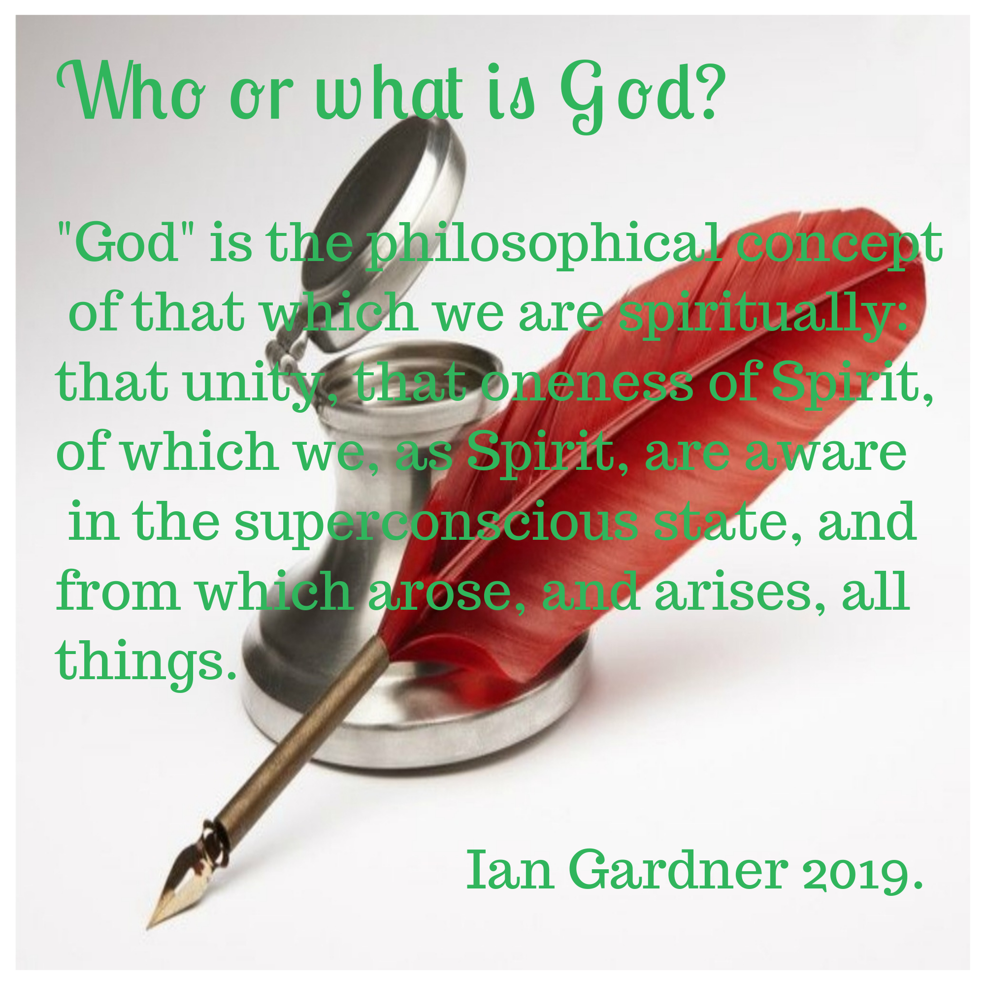 Who or what is God?